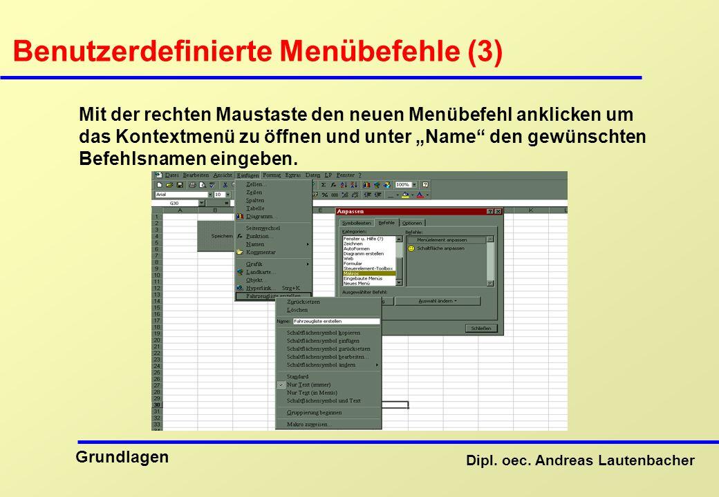 Benutzerdefinierte Menübefehle (3)