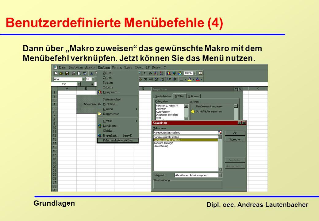 Benutzerdefinierte Menübefehle (4)