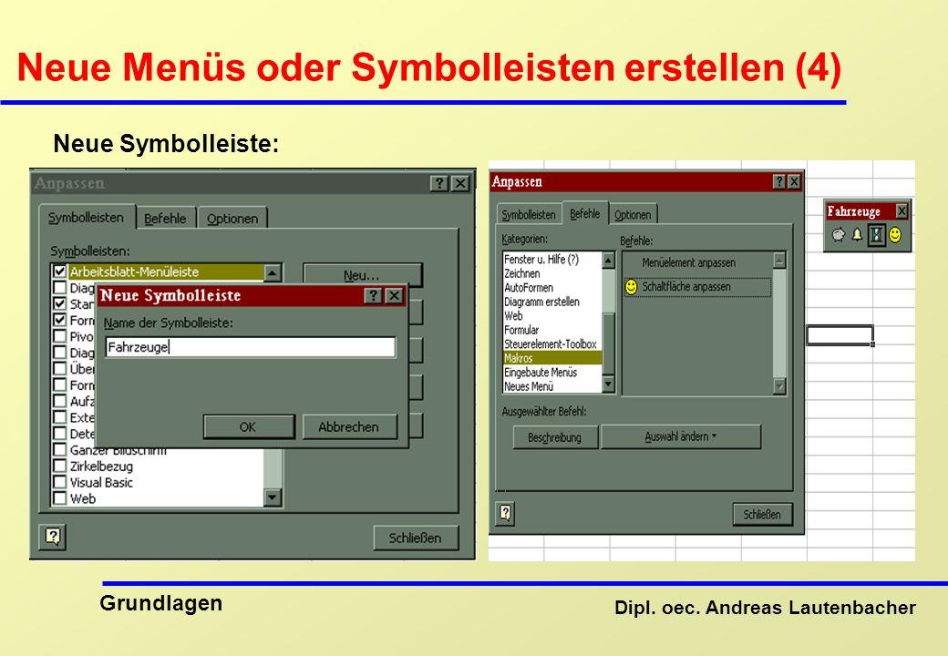 Neue Menüs oder Symbolleisten erstellen (4)