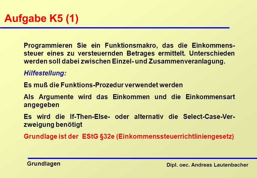 Aufgabe K5 (1)