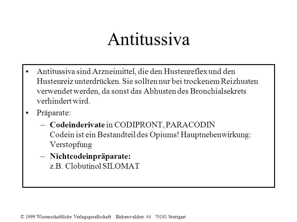 Antitussiva