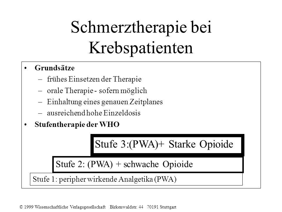 Schmerztherapie bei Krebspatienten