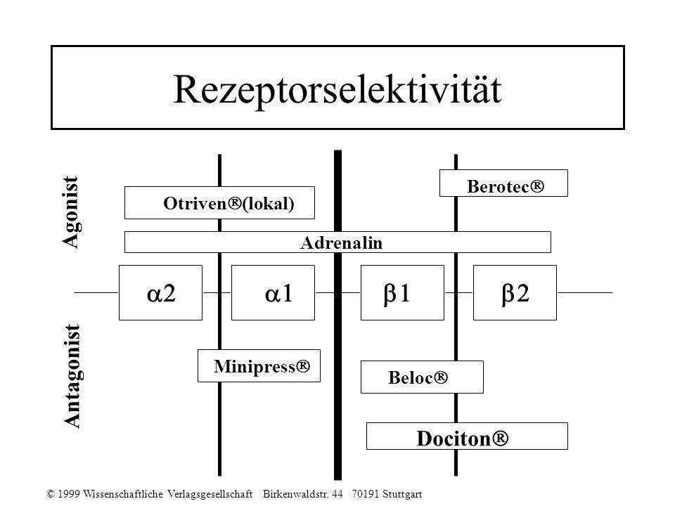 Rezeptorselektivität