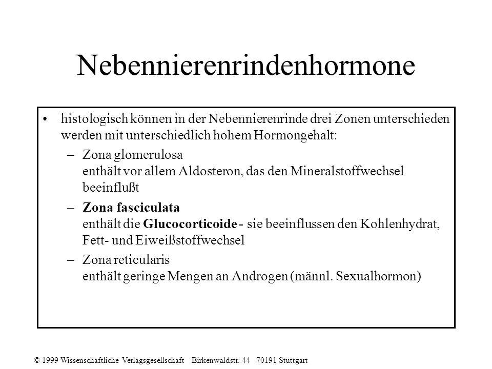 Nebennierenrindenhormone