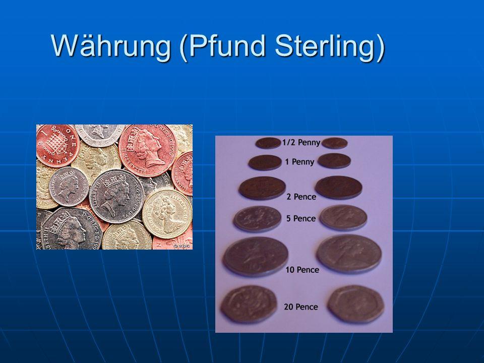 Währung (Pfund Sterling)