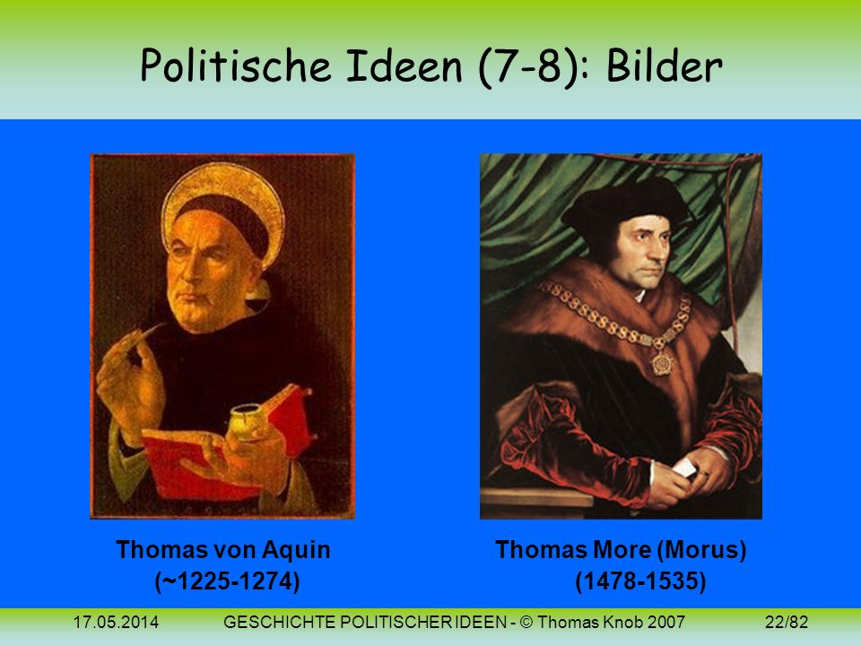 Politische Ideen (7-8): Bilder