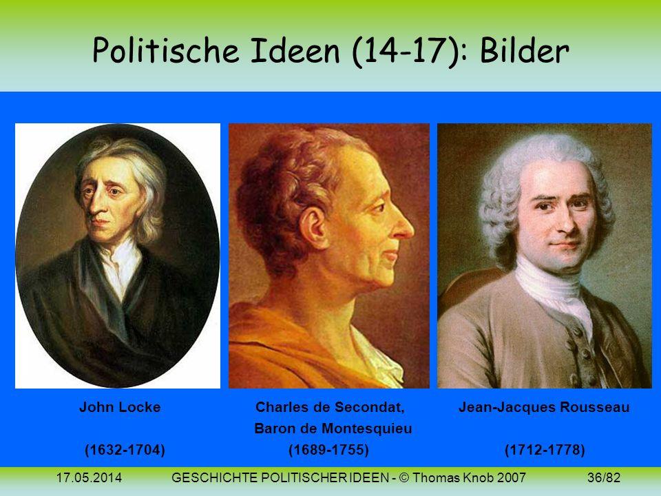 Politische Ideen (14-17): Bilder