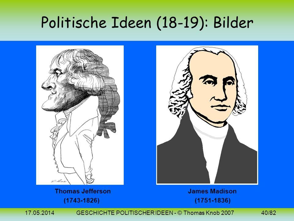 Politische Ideen (18-19): Bilder