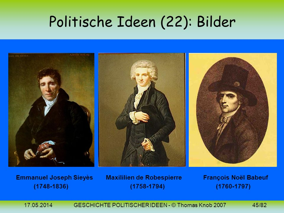 Politische Ideen (22): Bilder