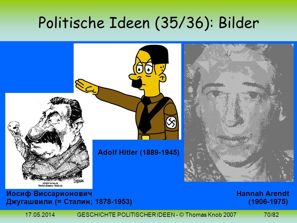 Politische Ideen (35/36): Bilder