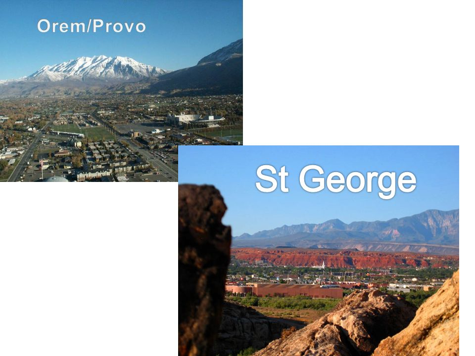 Orem/Provo St George
