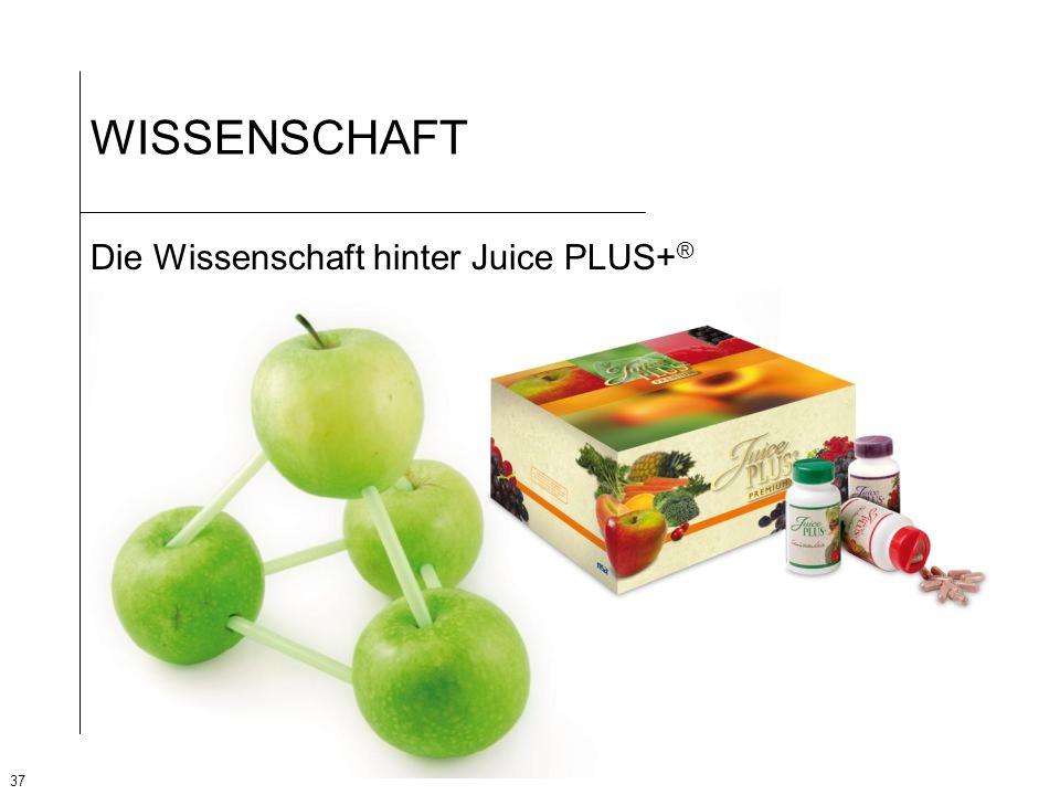 WISSENSCHAFT Die Wissenschaft hinter Juice PLUS+®