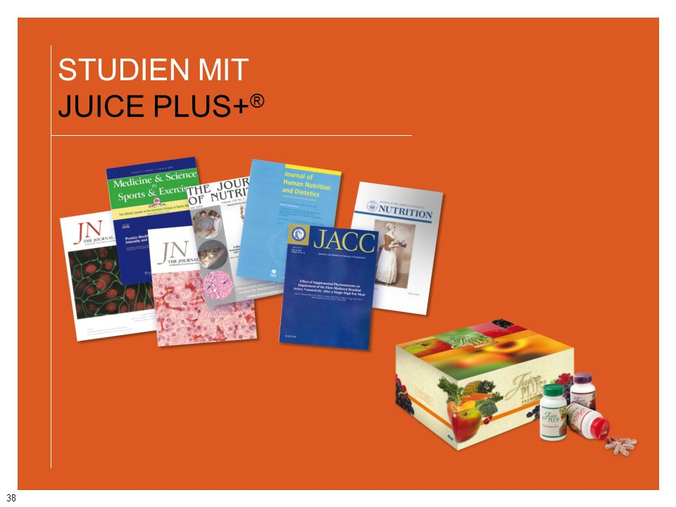STUDIEN MIT JUICE PLUS+®