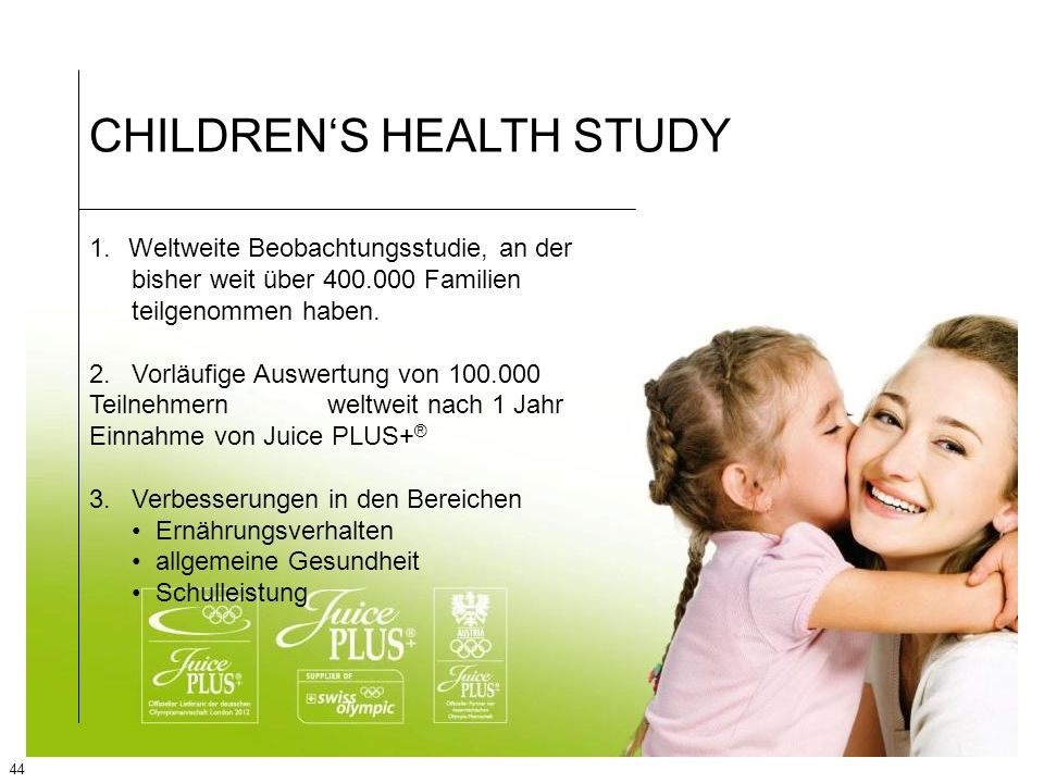 CHILDREN'S HEALTH STUDY