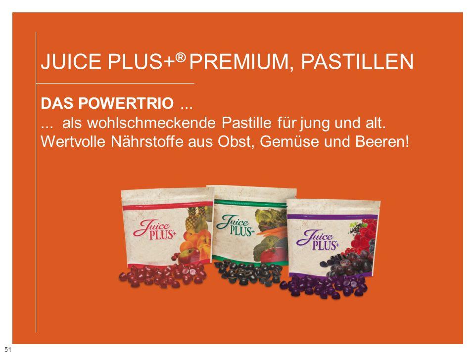 JUICE PLUS+® PREMIUM, PASTILLEN