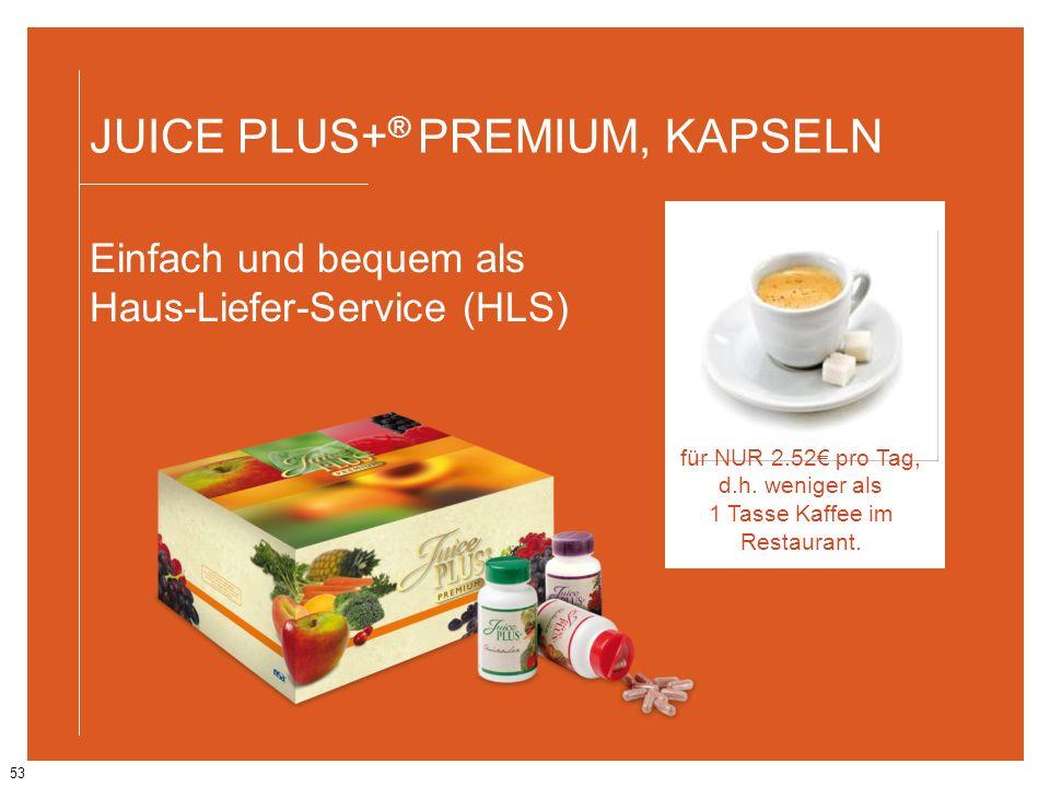 für NUR 2.52€ pro Tag, d.h. weniger als 1 Tasse Kaffee im Restaurant.
