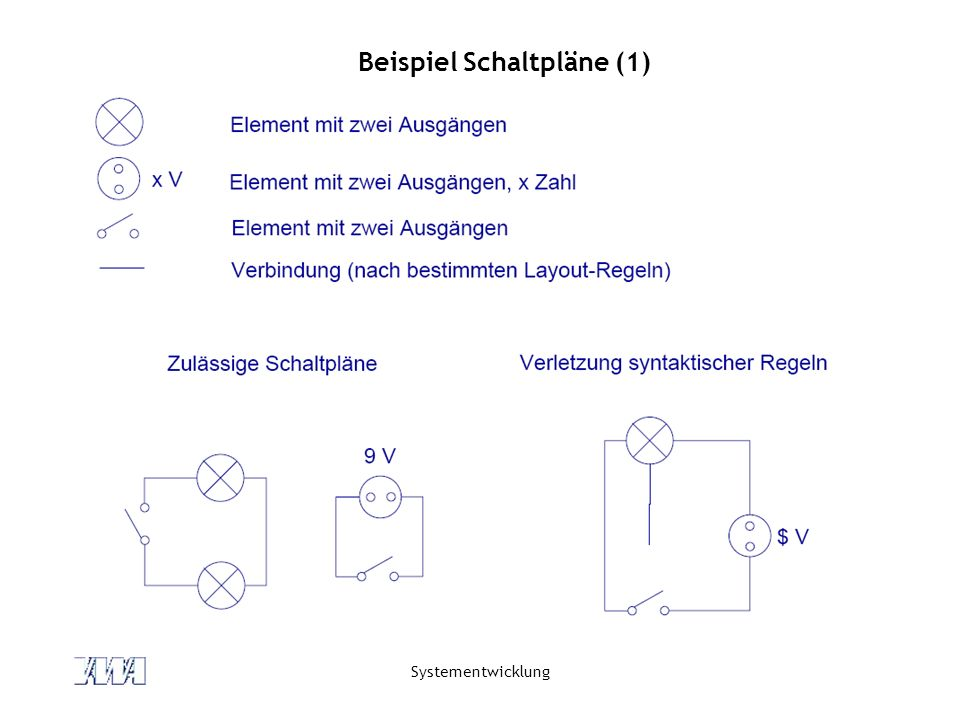 Beispiel Schaltpläne (1)