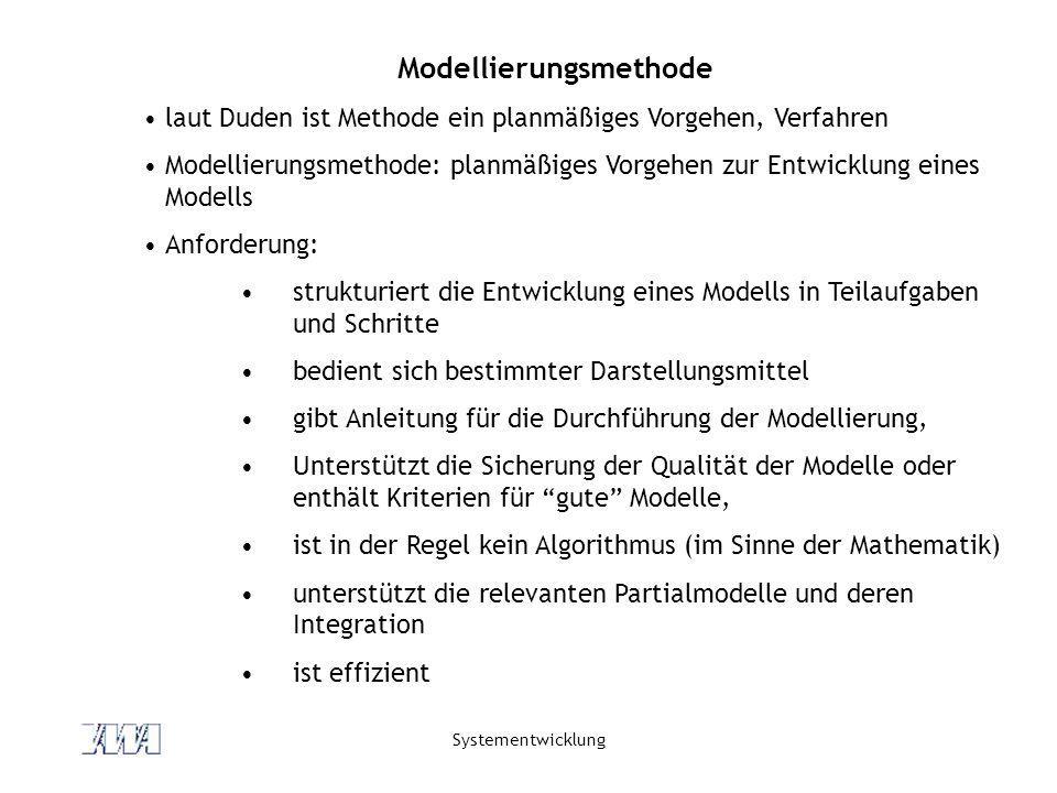 Modellierungsmethode