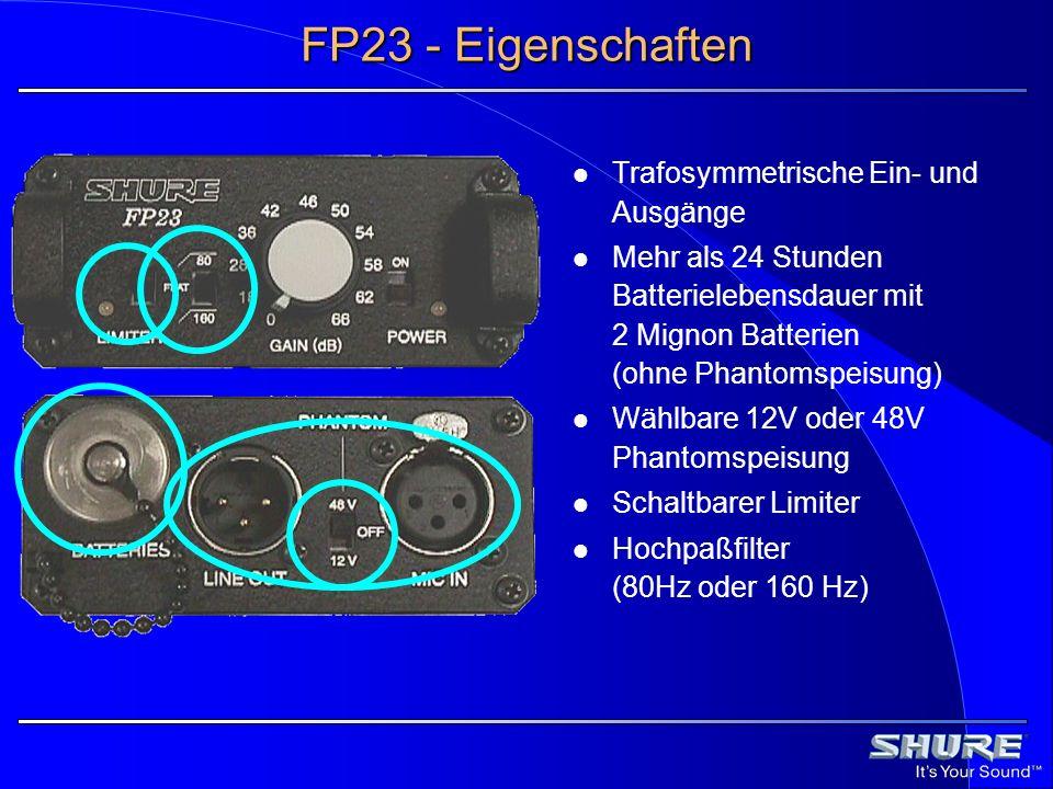 FP23 - Eigenschaften Trafosymmetrische Ein- und Ausgänge