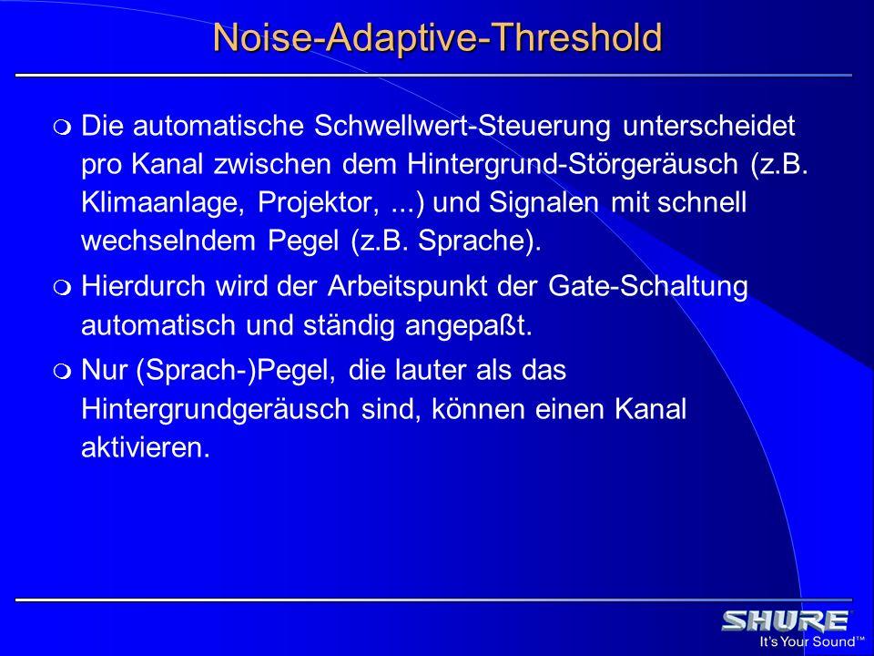 Noise-Adaptive-Threshold