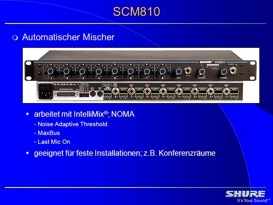 SCM810 Automatischer Mischer
