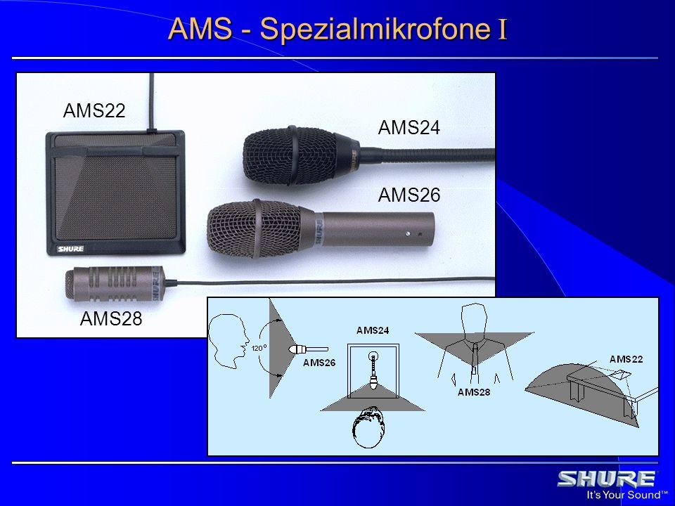 AMS - Spezialmikrofone I