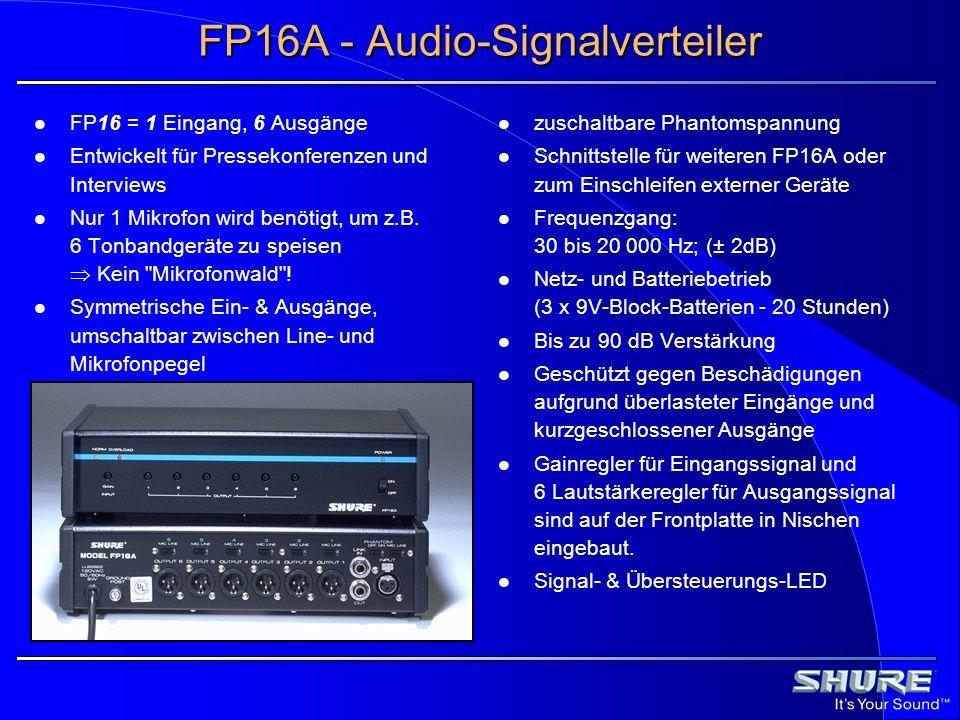 FP16A - Audio-Signalverteiler