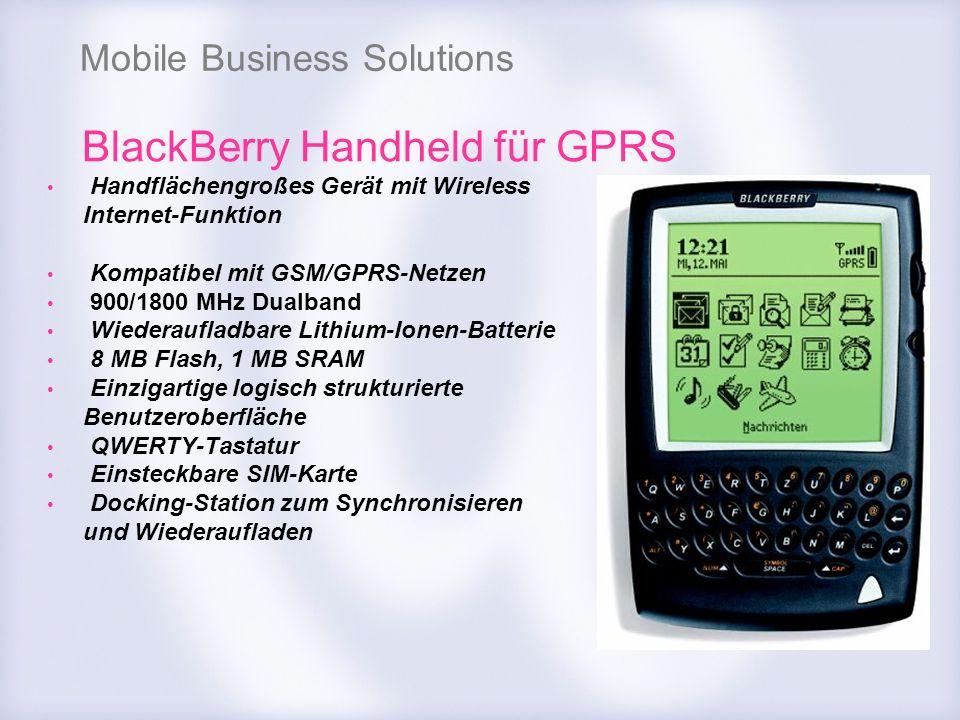 BlackBerry Handheld für GPRS