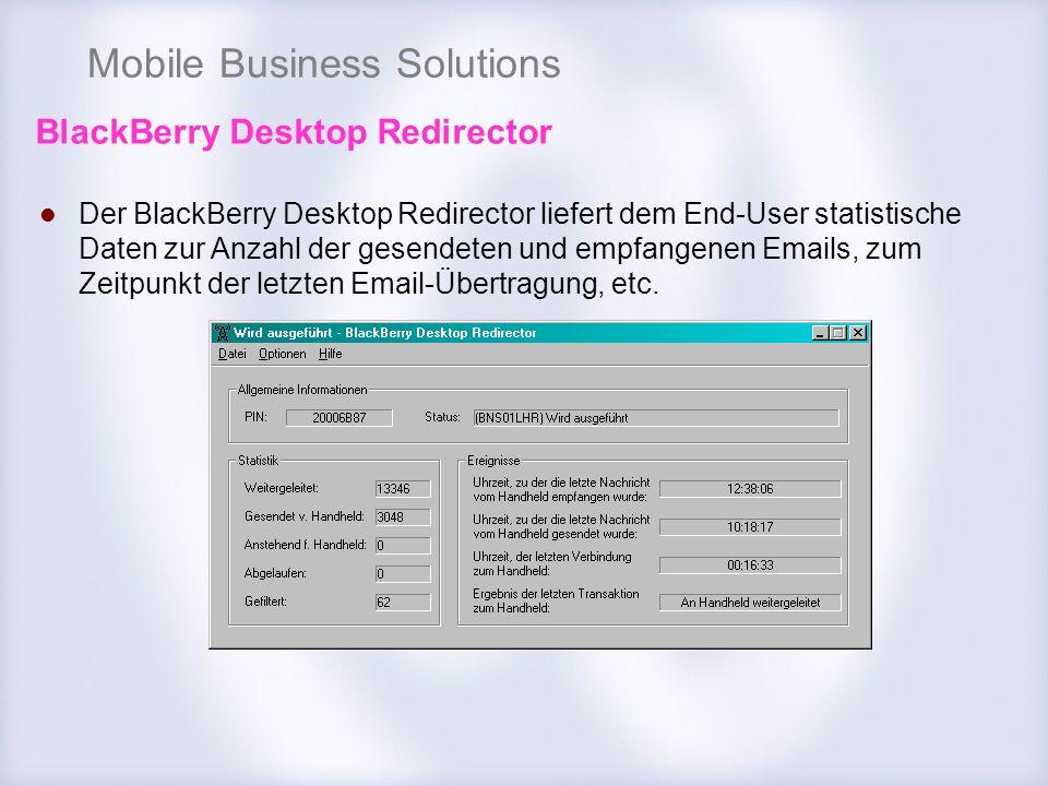 BlackBerry Desktop Redirector