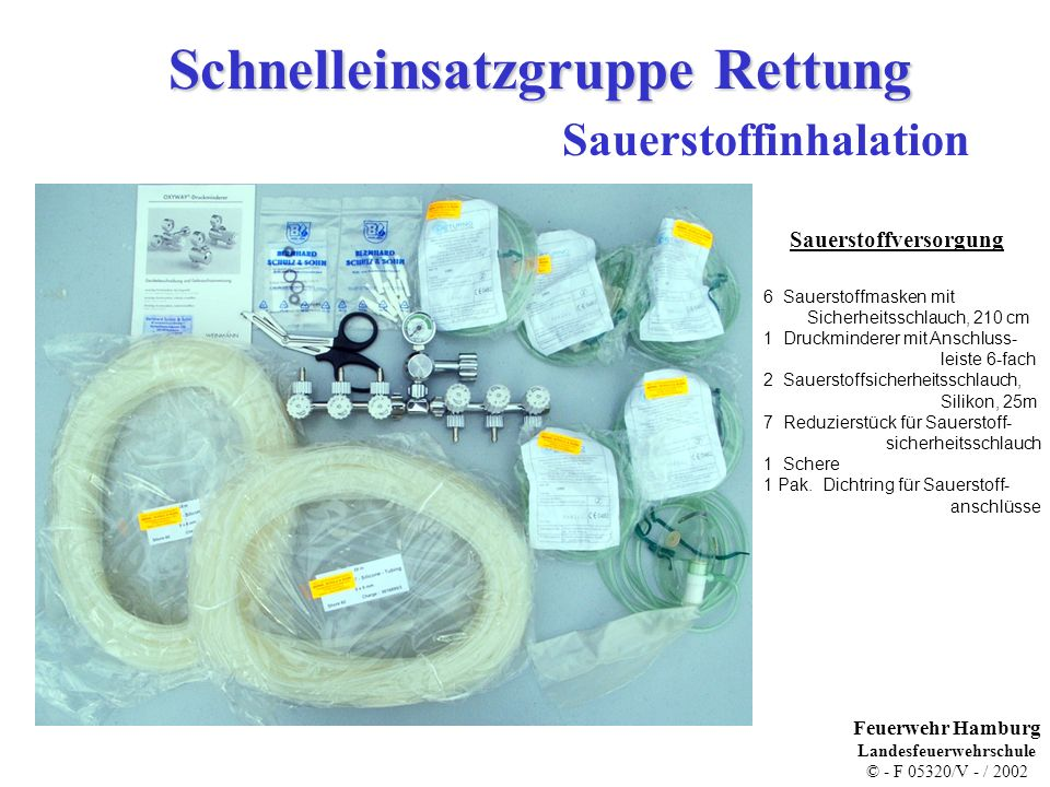 Sauerstoffinhalation