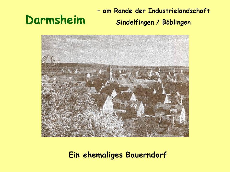 Darmsheim Ein ehemaliges Bauerndorf – am Rande der Industrielandschaft