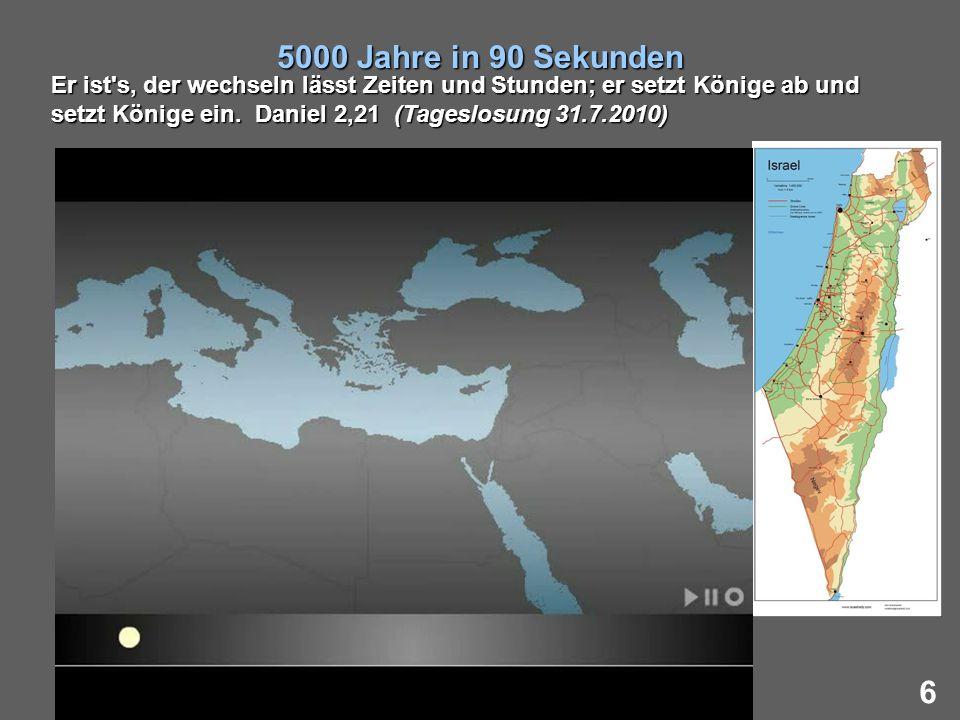 5000 Jahre in 90 Sekunden