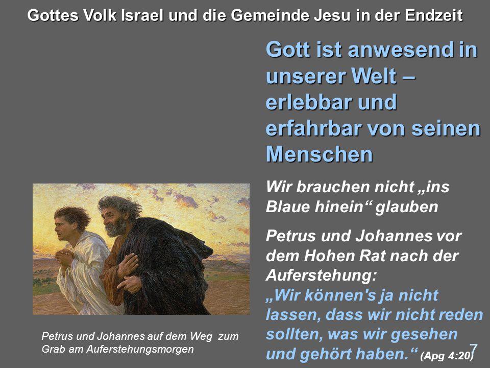 Gottes Volk Israel und die Gemeinde Jesu in der Endzeit