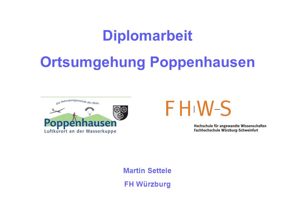 Ortsumgehung Poppenhausen