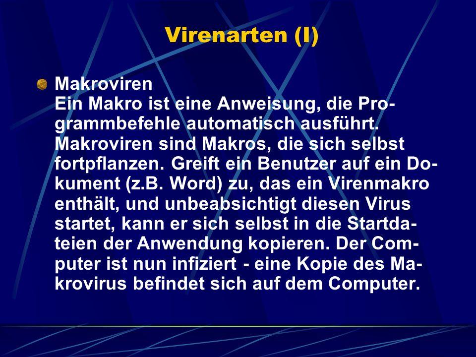 Virenarten (I)