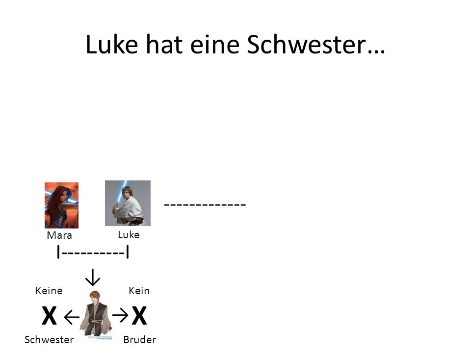 Luke hat eine Schwester…
