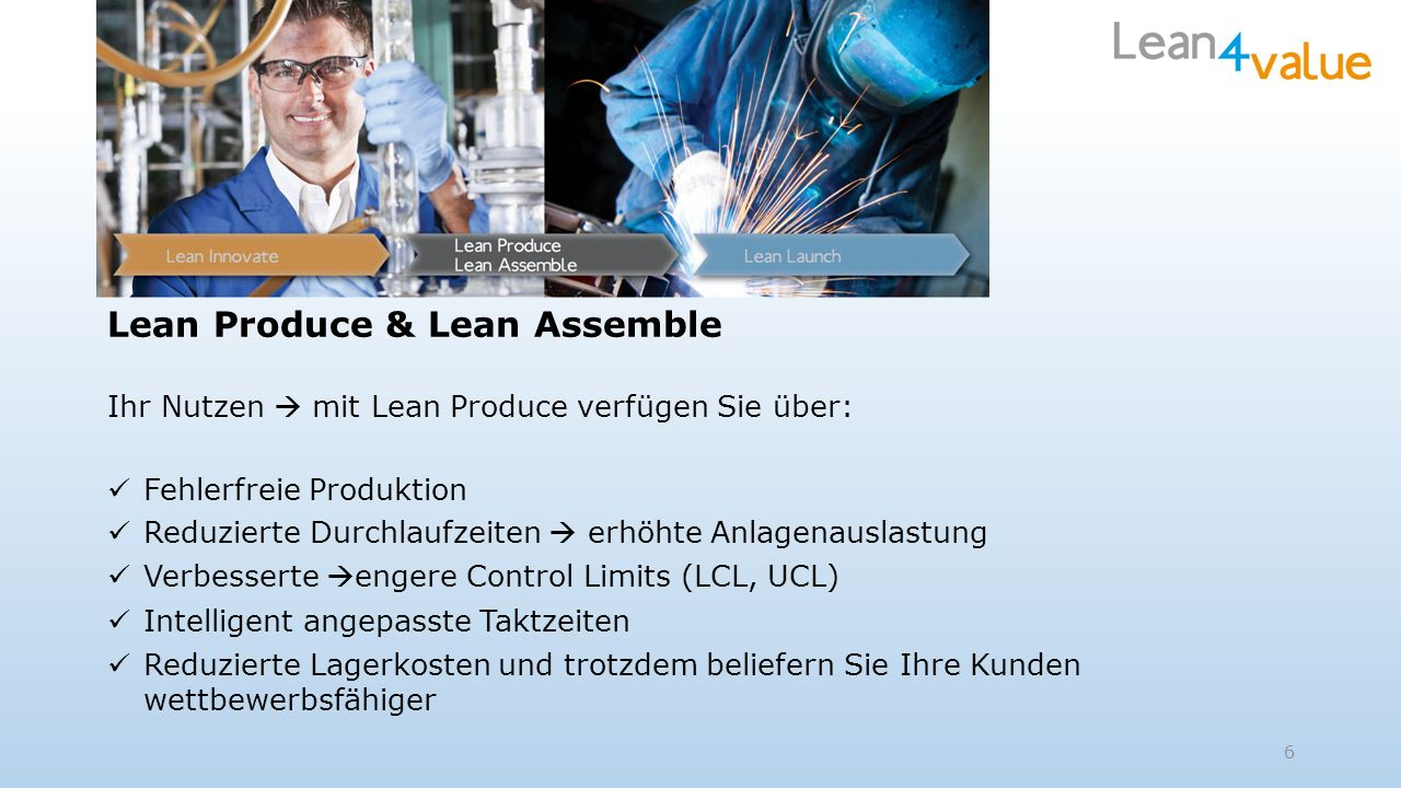 Lean Produce & Lean Assemble