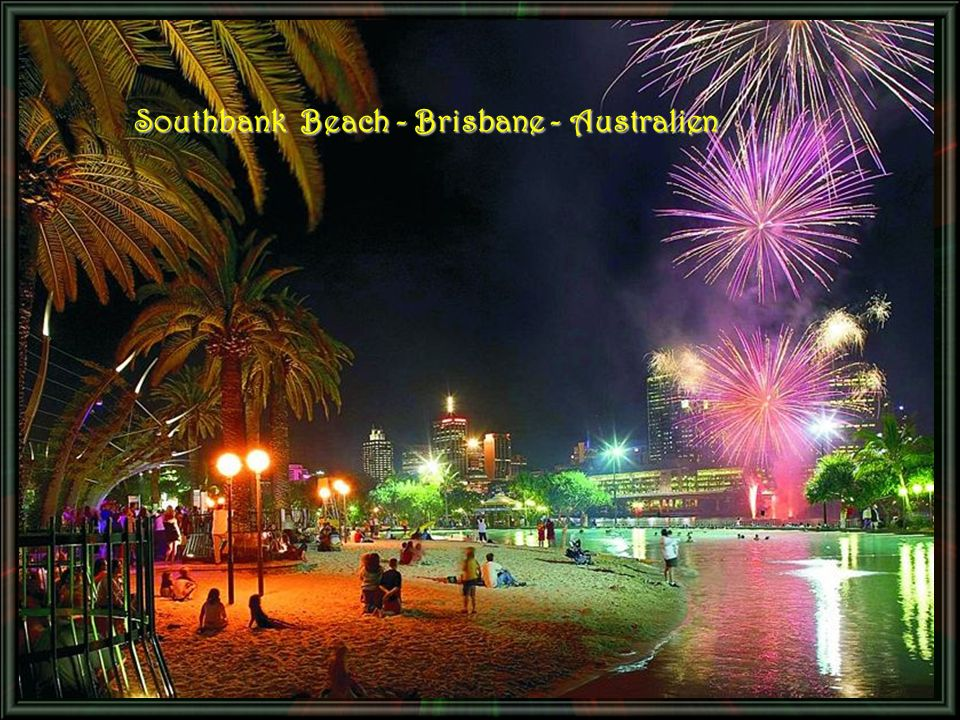 Southbank Beach - Brisbane - Australien