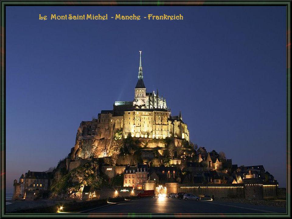 Le Mont Saint Michel - Manche - Frankreich