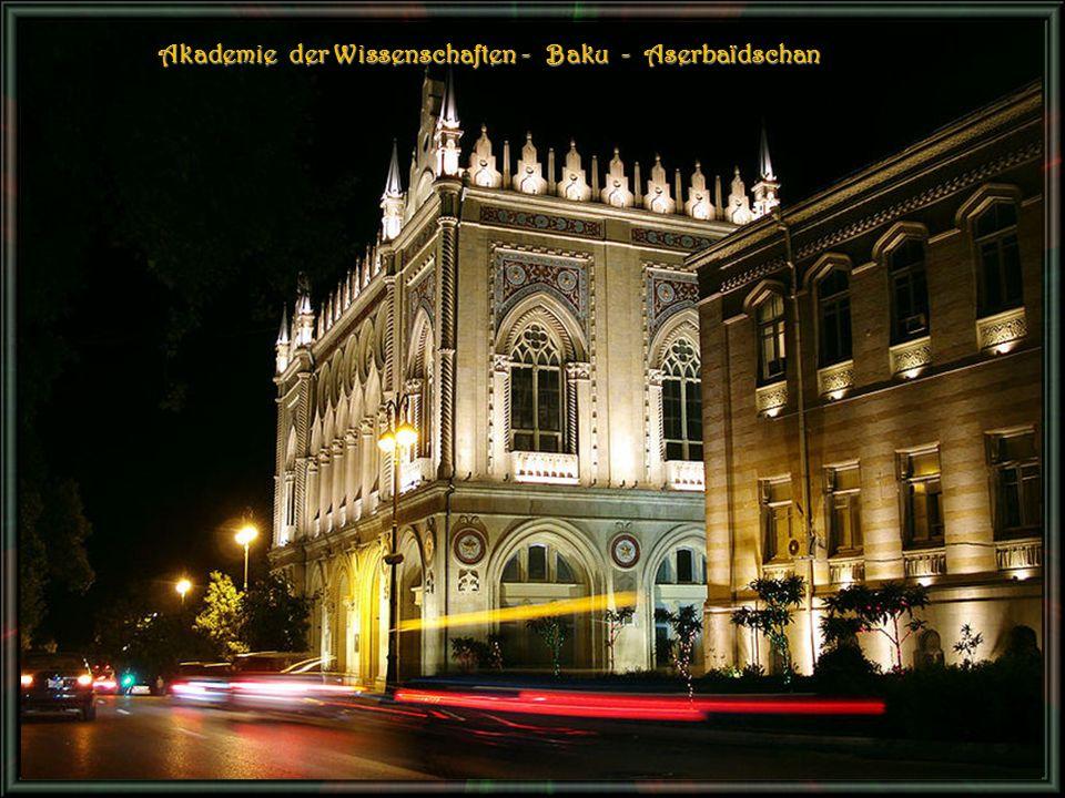 Akademie der Wissenschaften - Baku - Aserbaïdschan