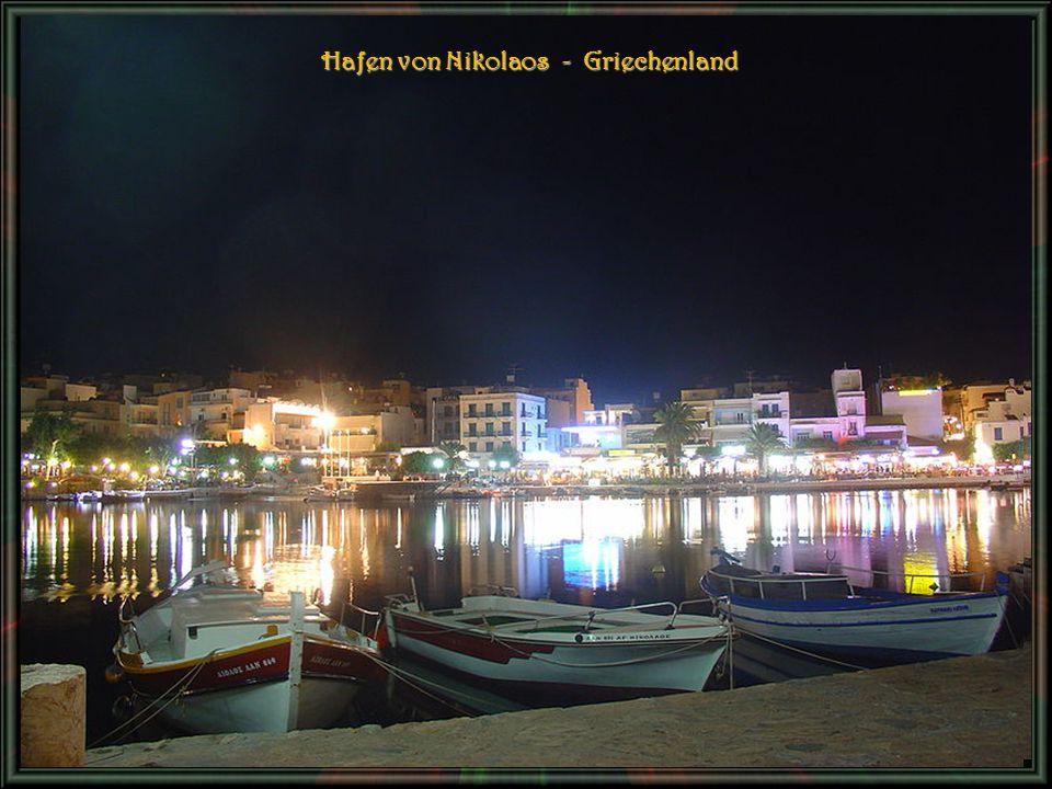 Hafen von Nikolaos - Griechenland