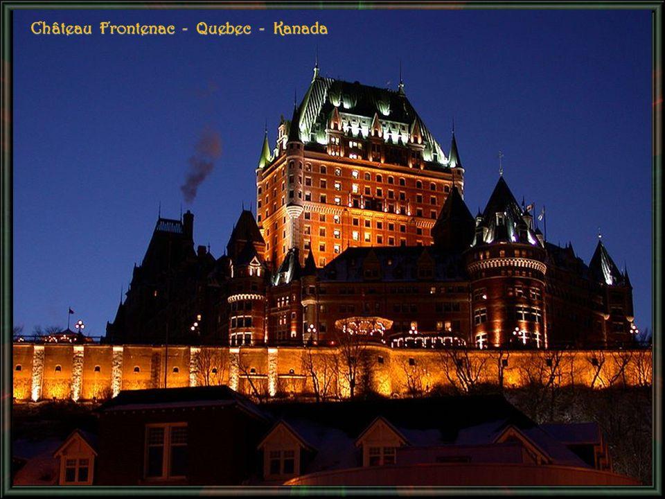 Château Frontenac - Quebec - Kanada
