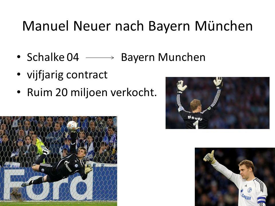 Manuel Neuer nach Bayern München