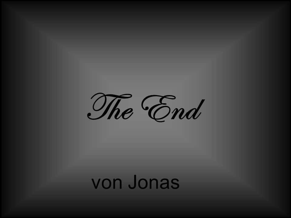 The End von Jonas