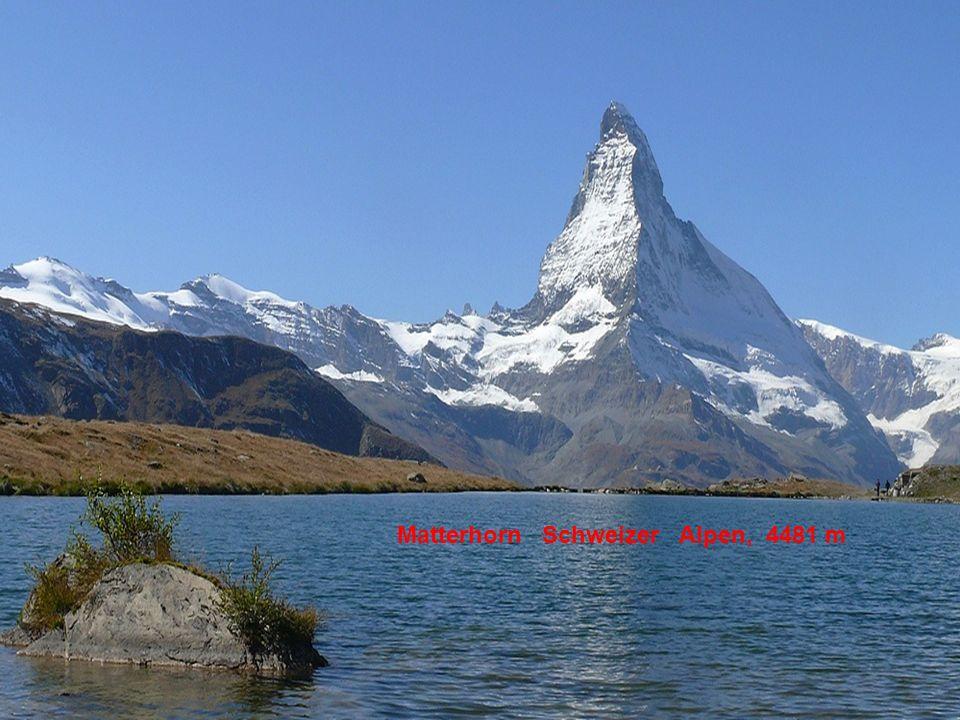 Matterhorn Schweizer Alpen, 4481 m