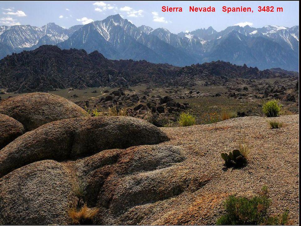Sierra Nevada Spanien, 3482 m