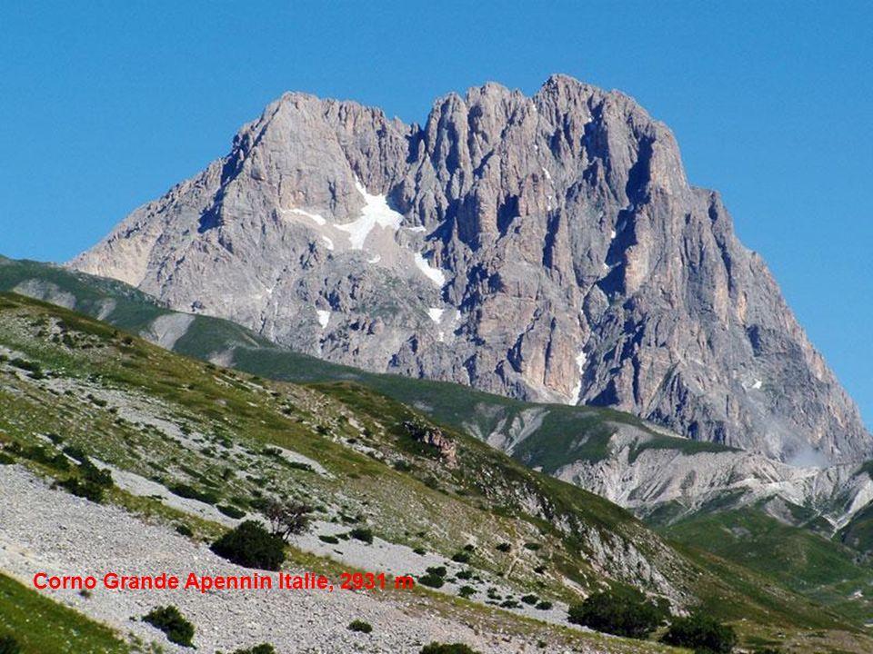 Corno Grande Apennin Italie, 2931 m