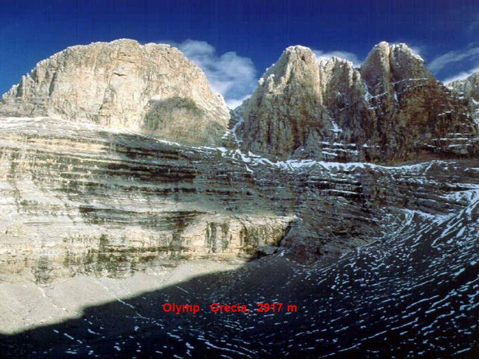 Olymp Grecia, 2917 m