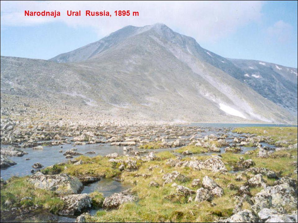 Narodnaja Ural Russia, 1895 m