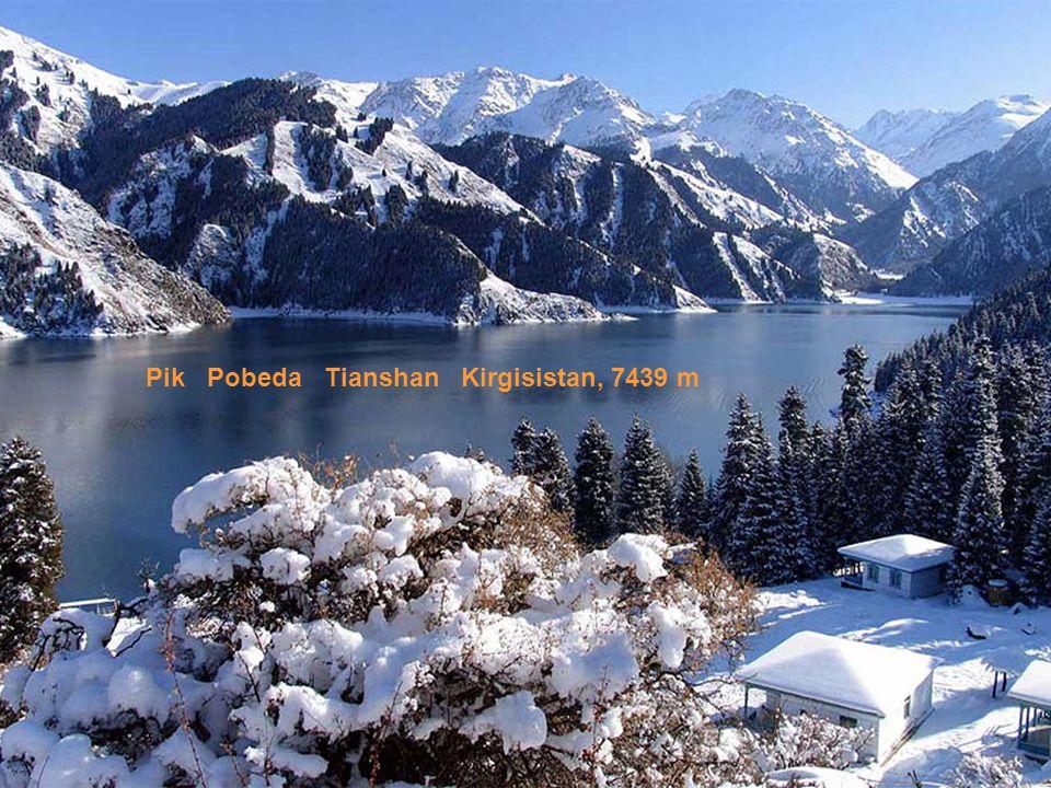 Pik Pobeda Tianshan Kirgisistan, 7439 m